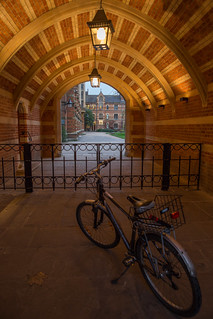 Evening at Keble College