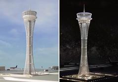 Прект диспетчерской башни аэропорта Стамбула от Safdie Architects