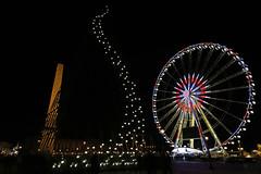 Place de la Concorde - Paris (France) (Meteorry) Tags: christmas paris france wheel night lights evening europe december îledefrance illumination explore concorde jul noël soir nuit idf placedelaconcorde obelisque 2015 meteorry granderouedeparis