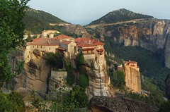 breath-taking view - (almost) unmatched (Moni Varlaam) (gled_ros) Tags: greece greecemainland griechenland felsen architecture meteora monastery kloster