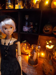 lets have a party!! (maggimini) Tags: momoko ccs petworks halloween pumpkin horror skull