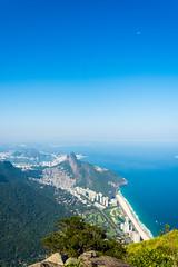 DSC_6106 (sergeysemendyaev) Tags: 2016 rio riodejaneiro brazil pedradagavea    hiking adventure best    travel nature   landscape scenery rock mountain    high green   summit  ocean blue