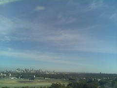 Sydney 2016 Oct 21 08:23 (ccrc_weather) Tags: ccrcweather weatherstation aws unsw kensington sydney australia automatic outdoor sky 2016 oct earlymorning