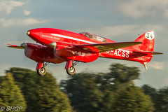 Old Warden 'Roaring 20's' Season Finale Airshow 2016 (harrison-green) Tags: old warden shuttleworth collection air show airshow 2016 edwardian pageant aircraft aviation world war 2 two ii display shgp steven harrisongreen photography canon eos 700d sigma 150500mm 18250mm de havilland comet racer plane race grosvenor house outdoor vehicle airplane sunset roaring 20s twenties finale flower plant mew gull replica sport hawker hurricane fight battle britain autogyro auto gyro
