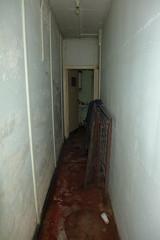 female corridor, Dagenham Borough Control bunker (looper23) Tags: dagenham borough control nuclear bunker civic centre cold war civil october 2016 london