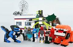 Lego Ben 10 (XxDeadmanzZ) Tags: xlr8 upgrade ripjaws ghost freak diamondhead fourarms stinkfly grey matter ben 10 heatblast wildmutt lego
