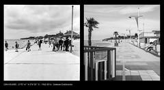 Gravelines (1962-2016) Salesse-Gabbardo (Archives photographiques du MRU) Tags: plage jeux promenade enfant reconduction denisgabbardo noiretblanc littoral traitdecte henrisalesse 1962 gravelines nord