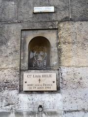 Mémoire, à la Craie (Jeanne Menjoulet) Tags: mémoire craie mortpourlafrance louishelie 1944 jcdecastelbajac ruedelaseine