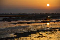 Sunset  in Kalochori Thessalonikis (stefanos tr) Tags: kalochori sunrise thessaloniki river macedoniagreece makedonia timeless macedonian