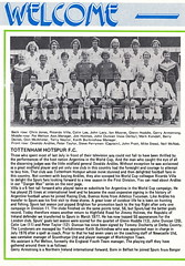 Coventry City vs Tottenham Hotspur - 1979 - Page 14 (The Sky Strikers) Tags: coventry city tottenham hotspur spurs hotspurs football league division one sky blue highfield road official matchday magazine 20p