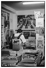 Vinyl Revolution (jbhthescots) Tags: 250mmsummicronv5 bwyellowfilter glasgow ilfordfp4125 ilfosol3114730min leicam3 plustek7600i sekonicl308s vuescan