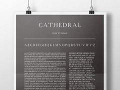 Free Cathedral free font (vectorarea) Tags: fonts freecutefontdownload sansserif