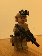 Custom Navy Seal (jonahfox1) Tags: lego seal team brickarms minifigcat minifig