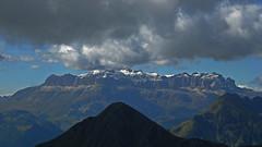 Vom Monte Cernera nach Westen (Monte Axel) Tags: monte cernera dolomiten dolomiti venetien sdtirol alpen berge rocks mountains wandern hiking gipfel