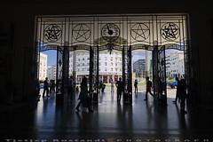 Gare Rabat Ville front gate (T   J ) Tags: morocco rabat fujifilm xt1 teeje fujinon1024mmf4