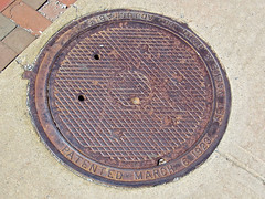 S.E.T. Valve and Hydrant Co., Schenectady, NY (Robby Virus) Tags: schenectady newyork ny upstate state set valve hydrant co company manhole cover metal foundry steel street pavement concrete