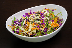 Raw Chinese Leaf Rainbow 'Coleslaw' (hathaway_m) Tags: food dinnerdiva bangkok coleslaw chinghehuang chinese