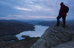 Loch Katrine (kenimcg107341) Tags: scotland central highlands ben ann loch katrine early morning autumn hill walking rocks nikon d750 2470 formatt hitech 09 grad filter
