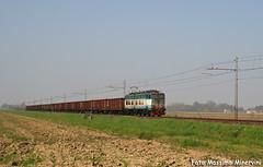 Iron Train (Massimo Minervini) Tags: e655 e655xmpr e655102 xmpr caimano ferrovia trenitalia cargo eaos ferro iron pontirolo lineamantovacremona cremona mrv canon400d rail locomotiva