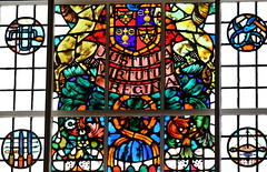 Stained Glass (phoebe.horner) Tags: stained glass art senate house library old quaint window indoors colour bright antique religion