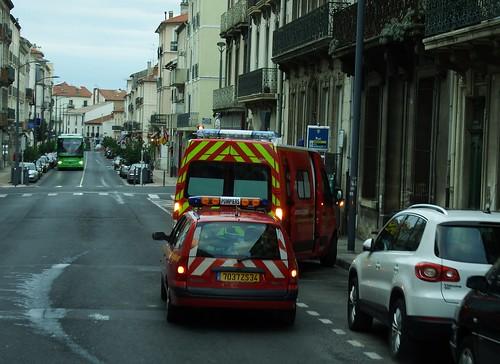 Pompier de Béziers Renault Mégane + Renault Master 22-10-16a