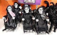 Hallowe'en Tat at Sainsbury's (deltrems) Tags: halloween tat all hallows skeleton black blackpool lancashire fylde coast sainsbury sainsburys