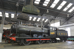 Coming Up With The Goods (Feversham Media) Tags: barrowhillroundhouse barrowhill staveley derbyshire 8217 londonandnortheasternrailway enginesheds lner greateasternrailway ger jamesholden preservedrailways heritagerailways steamlocomotives