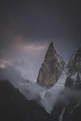 lady finger peak (ibn e nisar) Tags: peak cloud fog fogg