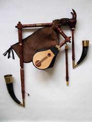 Bhmischer Bock (Dudy)  Es/F Set (Bagpipe Maker T. Sonoda) Tags: bagpipe bhmischerbock bohemianbock dudy dudelsack sackpfeife gaita cornemuse germany bayern mnchen erding landshut