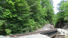 Roaring Watco EMDs (Appalachianrails) Tags: rails rail iron steel metal locomotive engine diesel electromotivediesel cargo manifest mixed industry transportation transit freight southernpacific espee sp sd45r sd40m2 sd45 sd402 emd watco wamx robson knwa wv westvirginia