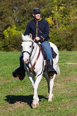 Cavalry (rmssch89) Tags: history oldbethpagevillagerestoration reenactment display war military militia demonstration nassau newyork cavalry horse