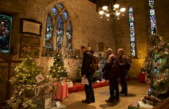 Gazing (ianwyliephoto) Tags: corbridge christmastree festival standrewschurch northumberland tynevalley tynedale community lights festive twinkle