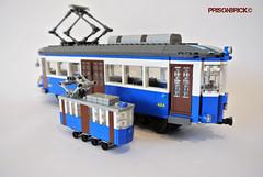 Father & Son 01 (PrisonBrick) Tags: lego tram opicina trieste star wars luke darth vader force