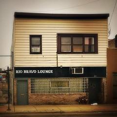 (339/366) Rio Bravo Lounge (CarusoPhoto) Tags: hipstamatic john caruso carusophoto photo day project 365 366 iphone 7 plus chicago north avenue building bar tavern saloon club square sign banal mundane ordinary everyday