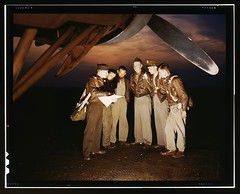 #Here's our mission! American combat crew receives final instructions just before taking off in a mighty YB-17 bomber from a bombardment squadron base at Langley Field, May 1942 [9083x7356] #history #retro #vintage #dh #HistoryPorn http://ift.tt/2eIjMiG (Histolines) Tags: histolines history timeline retro vinatage heres our mission american combat crew receives final instructions just before taking off mighty yb17 bomber from bombardment squadron base langley field may 1942 9083x7356 vintage dh historyporn httpifttt2eijmig