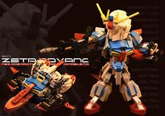 Z Cover (Sam.C (S2 Toys Studios)) Tags: zetagundam gundam mobilesuit lego moc s2 80s scifi mecha anime japan spacecraft