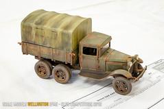 Soviet GAZ-AAA truck - Kevin Trew