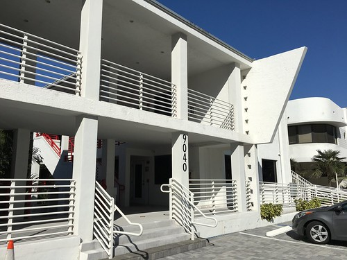 Mid-Century Apartment Building Surfside