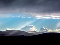 Miracle (tatianamitina) Tags: mountains norway norge landscape sky cloud sun bea nature