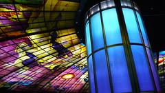 P1040135 (Nog-Z) Tags: 台湾 高雄 カオシュン 地下鉄 駅 taiwan kaohsiung subwaystation 美麗島駅 ステンドグラス formosaboulevardstation stainedglass