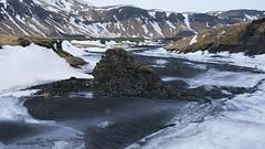 Snowwhite and Ashblack (lunaryuna) Tags: iceland southiceland landscape skaftafell nationalpark mountainrange volcanicashes snow ice ash textures winter season seasonalwonders volcaniclandscape lunaryuna