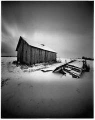 Barn (Foide) Tags: pinhole lochkamera estenopeica cameraobscura nolens nordic barn plain realitysosubtle