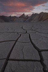Desolate Beginnings (Willie Huang Photo) Tags: deathvalleynationalpark deathvalley desert cracks badlands california national park dry landscape nature scenic