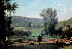 IMG_3558 Paul Flandrin. 1811-1902. Paris. Valle d'Hyres.Valle of Hyres.  1860.   Montpellier Muse Fabre. (jean louis mazieres) Tags: peintres peintures painting muse museum museo france montpellier musefabre paulflandrin