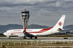 Air Algerie - Boeing 737-800 - 7T-VKM (j.borras) Tags: airplane spotting barcelona bcn lebl takeoff departing rwy25l boeing 737 800 air algerie 7tvkm