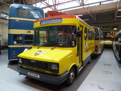 Preserved Bee Line Buzz Company 63 (D63NOF) 15102016 (Rossendalian2013) Tags: preserved bus minibus manchesterminibuses beelinebuzzcompany manchester freightrover sherpa carlyle d63nof ribble ribblemotorservicesltd