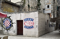 Icons of Split (roksoslav) Tags: split dalmatia croatia 2016 nikon d7000 sigma18125mm hajduk football nada rugby