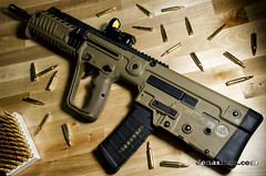 Homeland (Dreamer's Moon) Tags: tavor assault iwi israel weapon art gun rifle bullpup army