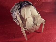 Scarab beetle (Patrikeev Alexandr) Tags: origami yoshizawa beetle scarab