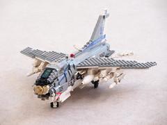 A-7E Corsair II updated (Mad physicist) Tags: lego a7e aircraft usnavy corsair corsairii